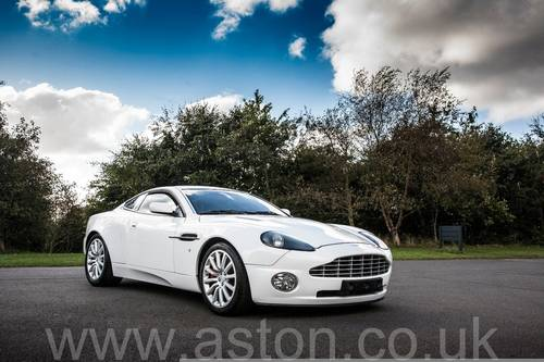 2002 Aston Martin Vanquish SOLD (picture 1 of 6)