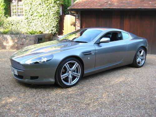 2008 Aston Martin DB9 V12 With Just 17,000 Miles From New For Sale (picture 1 of 6)