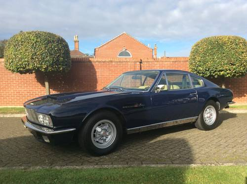 1972 Aston Martin DBS V8 Sports Saloon For Sale (picture 3 of 6)