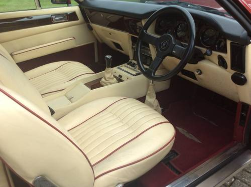 1981 Aston Martin V8 Saloon For Sale (picture 5 of 6)