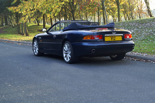 Aston Martin Hire | Hire an Aston Martin DB7 convertible For Hire (picture 2 of 4)