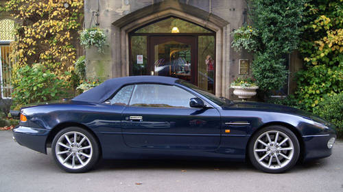 Aston Martin Hire | Hire an Aston Martin DB7 convertible For Hire (picture 4 of 4)