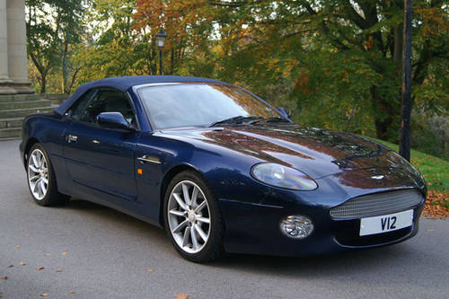 Aston Martin Hire | Hire an Aston Martin DB7 convertible For Hire (picture 1 of 4)
