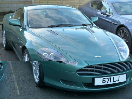 2005 Aston Martin Db9 Coupe Aston Racing Green Low M S Sold Car And Classic
