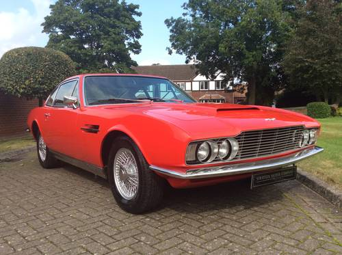 1969 ASTON MARTIN DBS VANTAGE For Sale (picture 1 of 6)
