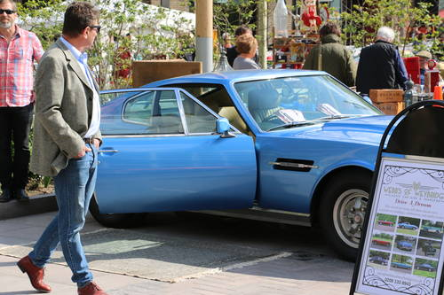 1979 Aston Martin V8 for self drive hire For Hire (picture 6 of 6)