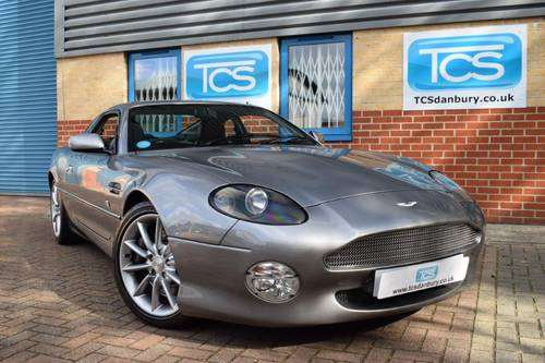 2000 Aston Martin DB7 V12 Vantage Coupe 6-Speed SOLD (picture 1 of 6)