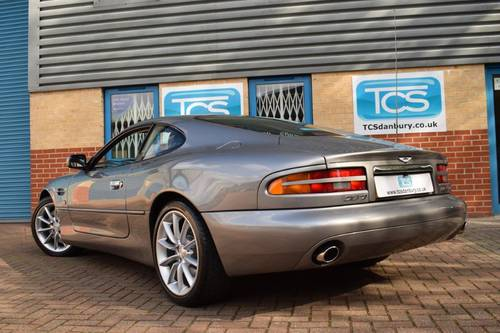 2000 Aston Martin DB7 V12 Vantage Coupe 6-Speed SOLD (picture 2 of 6)