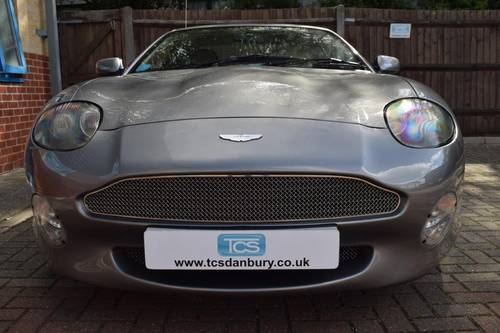 2000 Aston Martin DB7 V12 Vantage Coupe 6-Speed SOLD (picture 4 of 6)