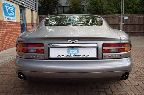 2000 Aston Martin DB7 V12 Vantage Coupe 6-Speed SOLD (picture 5 of 6)