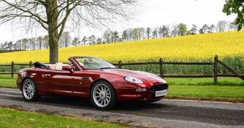 1997 Aston Martin Volante Convertible SOLD (picture 1 of 6)
