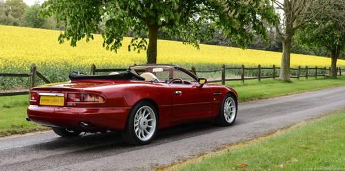 1997 Aston Martin Volante Convertible SOLD (picture 2 of 6)