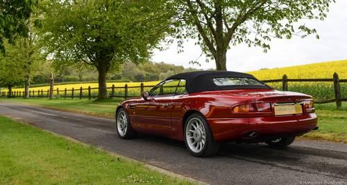 1997 Aston Martin Volante Convertible SOLD (picture 3 of 6)