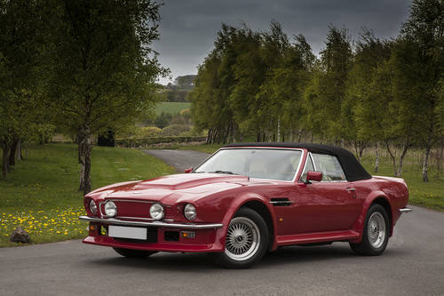 1988 V8 Vantage Volante X-Pack Manual SOLD (picture 1 of 6)