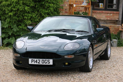 1996 Aston Martin DB7 for self drive hire For Hire (picture 1 of 6)