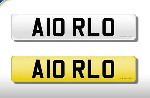 1983 'A10 RLO' Cherished Number On Retention Until 2027! For Sale (picture 1 of 1)