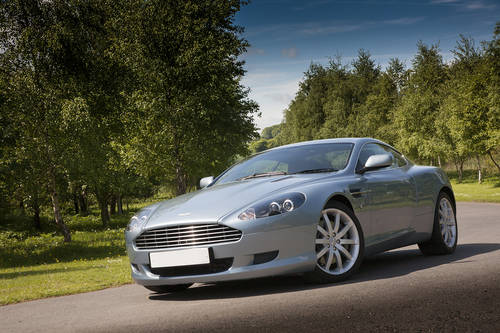 Aston Martin DB9 Coupe 2004 SOLD (picture 1 of 6)
