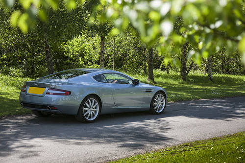 Aston Martin DB9 Coupe 2004 SOLD (picture 3 of 6)
