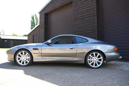 2004 Aston Martin DB7 5.9 V12 GTA Coupe Auto (21,700 miles) SOLD (picture 1 of 6)