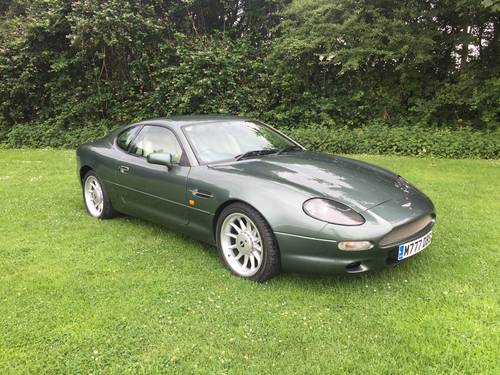 1995 Aston Martin DB7 SOLD (picture 1 of 6)