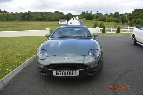 1996 Low mileage Aston Martin DB7 for sale (under offer) SOLD (picture 1 of 6)