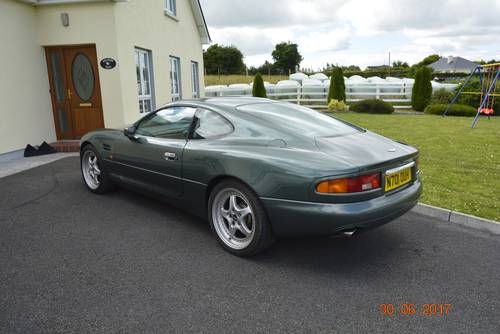 1996 Low mileage Aston Martin DB7 for sale (under offer) SOLD (picture 3 of 6)