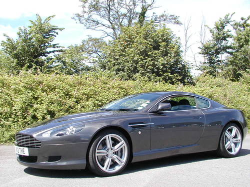2005 ASTON MARTIN DB9 COUPE FITTED FACTORY SPORT PACK 30,120 Mile For Sale (picture 1 of 6)