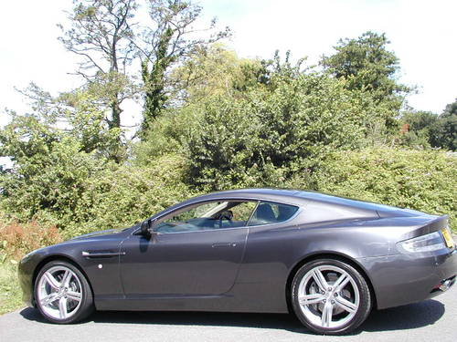 2005 ASTON MARTIN DB9 COUPE FITTED FACTORY SPORT PACK 30,120 Mile For Sale (picture 2 of 6)