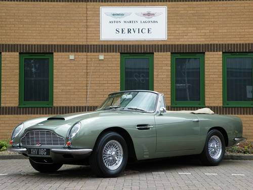 1968 DB6 Vantage Volante. 1 of 29. Matching Numbers. For Sale (picture 1 of 6)