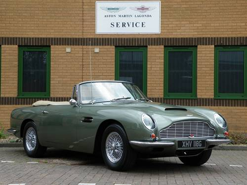 1968 DB6 Vantage Volante. 1 of 29. Matching Numbers. For Sale (picture 2 of 6)