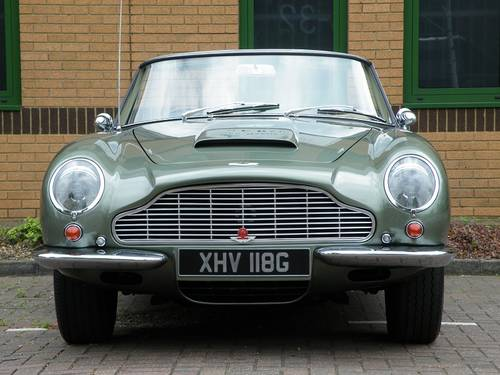 1968 DB6 Vantage Volante. 1 of 29. Matching Numbers. For Sale (picture 4 of 6)