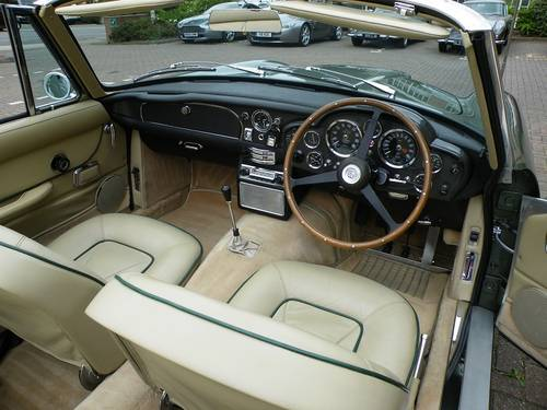 1968 DB6 Vantage Volante. 1 of 29. Matching Numbers. For Sale (picture 5 of 6)