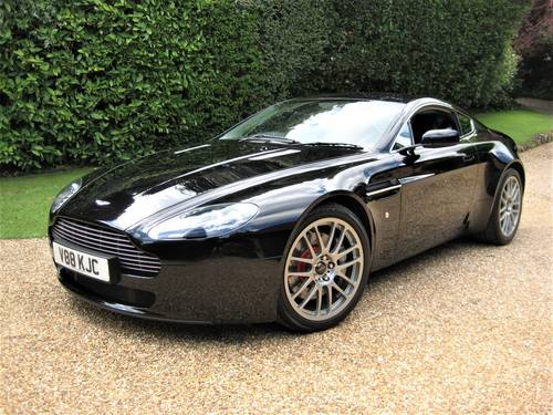 2008 Aston Martin Vantage V8 Just Been Serviced By Aston Martin For Sale (picture 1 of 6)