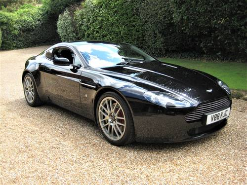 2008 Aston Martin Vantage V8 Just Been Serviced By Aston Martin For Sale (picture 2 of 6)