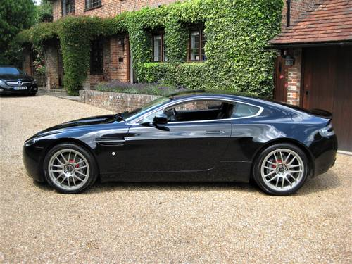 2008 Aston Martin Vantage V8 Just Been Serviced By Aston Martin For Sale (picture 5 of 6)