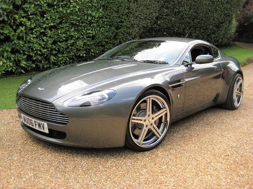 2006 Aston Martin Vantage V8 With Just 19,800 Miles From New For Sale (picture 1 of 6)