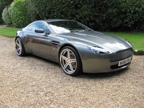 2006 Aston Martin Vantage V8 With Just 19,800 Miles From New For Sale (picture 2 of 6)