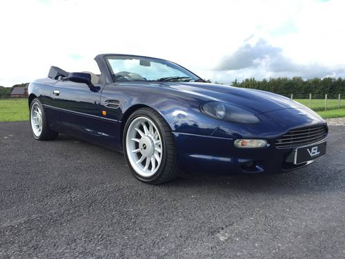 1997 Stunning Aston Martin DB7 Volante Convertible SOLD (picture 1 of 6)