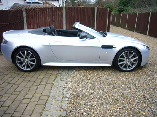 Vantage S Roadster, sportshift 11, 2012-62, 15k, 1 lady onr For Sale (picture 1 of 6)