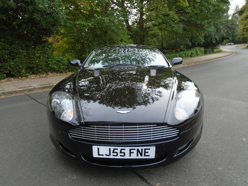 2005 ASTON MARTIN DB9 TOUCHTRONIC AUTO 05/55 PLATE STUNNING SOLD (picture 3 of 6)