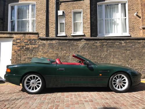 1996 Aston Martin DB7 Volante - 55.500 miles since new SOLD (picture 2 of 6)