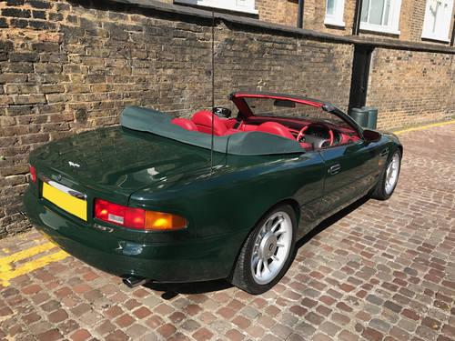 1996 Aston Martin DB7 Volante - 55.500 miles since new SOLD (picture 4 of 6)