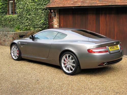 2005 Aston Martin DB9 With Only 16,900 Miles & 1 Owner From New For Sale (picture 5 of 6)