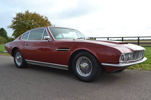 1968 Aston Martin DBS six, left hand drive For Sale (picture 1 of 6)