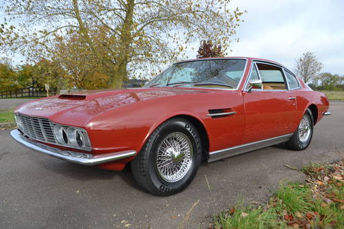 1968 Aston Martin DBS six, left hand drive For Sale (picture 3 of 6)