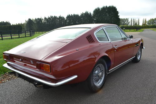 1968 Aston Martin DBS six, left hand drive For Sale (picture 4 of 6)