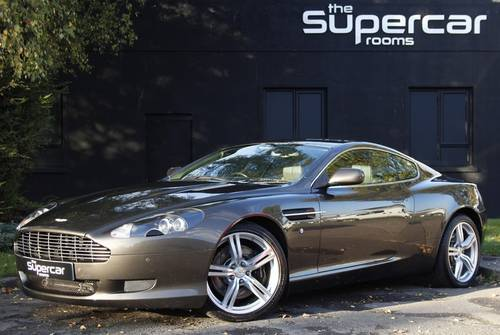 2007 Aston Martin DB9 - Cumberland Grey SOLD (picture 1 of 6)