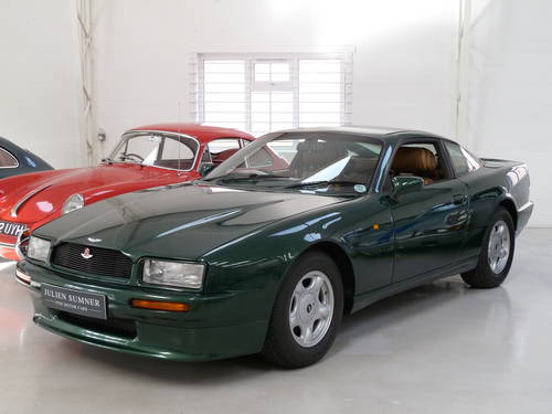1990 Aston Martin Virage - Full History & Manual Transmission SOLD (picture 1 of 6)