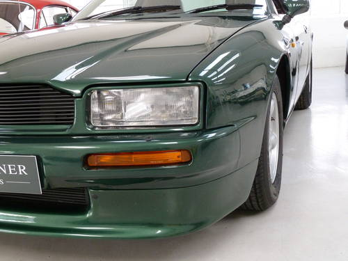 1990 Aston Martin Virage - Full History & Manual Transmission SOLD (picture 3 of 6)