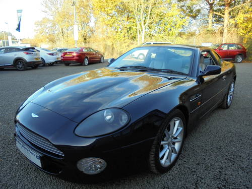 2001 Low Mileage Aston Martin DB7 Vantage For Sale (picture 2 of 6)